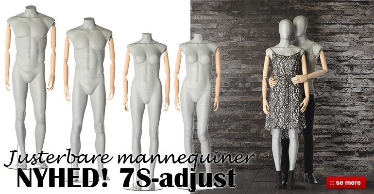 Køb justerbare mannequiner her i flot design