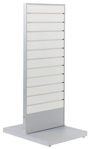 Slatwall og rillepanel stativ med dobbeltsidet panel plader - Køb online med hurtig levering