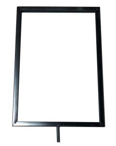 Metal skilteholder til A4 papir - Køb flotte skilteholder af metal online til billig pris og dag til dag levering