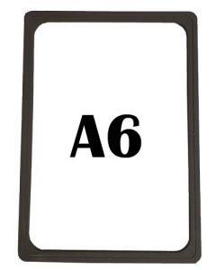Plastrammer a6 sort - Køb billigt online her