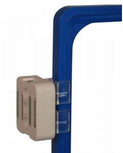 Magnet med beslag til skilteramme - Perfekt til skiltning i butik og lager