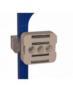 Magnet holder med beslag til bagsiden på skilterammer - Jern og metal magnet holder