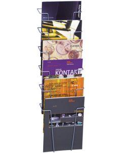 Smart holder til brochure og kataloger med montering på væg