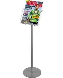 Flot brochureholder stående til A4 format - kataloger / brochurer
