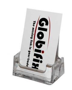 Visitkort holder til vertikal format visning - Med plads til mange visitkort