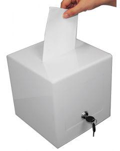 Smart akryl boks med hul i toppen - Perfekt til konkurrencer m.m.