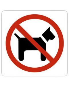 Hunde ingen adgang - Brug piktogram til skiltning