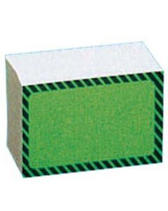 Pap karton i grøn og sort farve - Pakket med 100 stk. til billig pris