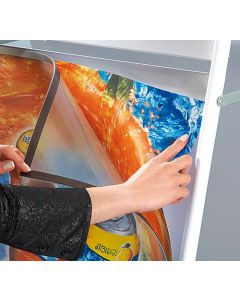 Magnet PET-frontplade der passer til 50 X 70 cm a-skilte
