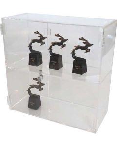 Elegant akryl-skab til udstilling af produkter - Med nøgle-lås