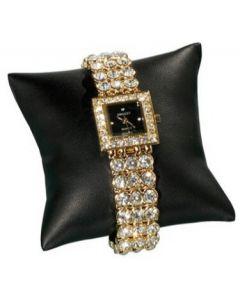 Ure og armbånds pude til produkt præsentation - Lækkert imiteret læder