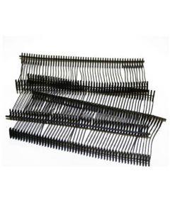 Sorte pins til tekstilpistol / textilpistol - Pakket med 1000 stk.