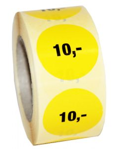 Prismærke med 10,-  // Nemt og enkelt prismærkning