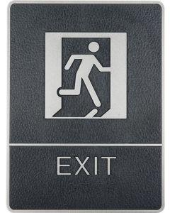 Exit skilt / pictogram med selvklæbe - Perfekt til døre og facader