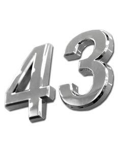Flot 3D nummer / tal sæt fra 0-9 - Kan bruges til ethvert fotmål