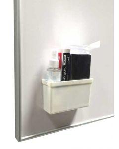 Whiteboard tilbehør sæt med holder, rensemiddel, tavlevisker og pen sæt - Køb online