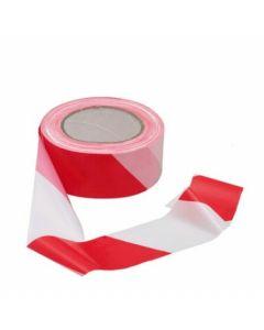 Bånd i rød og hvid til opmærkning - Kan bruges i enhver handel