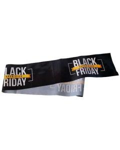 Black-Friday bånd til afspærring samt skiltning på Black-Friday