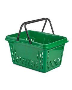 Indkøbskurv af høj kvalitet - 28 liter og fås i rød, grøn og sort farve