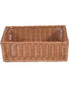 Flot og solid varekurv - Perfekt til bager brød, passe til gulvstativ