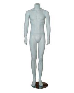 Stående mannequin i herre model uden hoved - Kan bruges i enhver handel