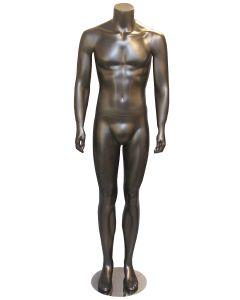 Herre mannequin i flot mat sort farve - Kan bruges i enhver handel