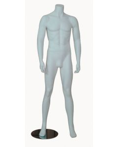 Herre mannequin med spredte ben - Perfekt til tøj præsentation