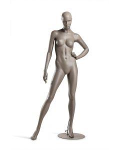 Detaljeret dame mannequin af høj kvalitet - Stående på fodplade