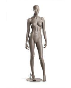 Mannequin med silkemat glas i 3 farver - Kvalitetsvarer