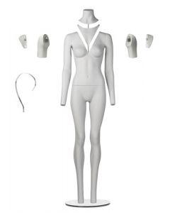 Slim fit foto mannequin i dame model - Med mange smarte detaljer der gør fotoskydning til en leg