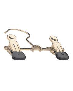 Metal klemme bøjle i 12 cm - Perfekt til ophæng af sko og støvler