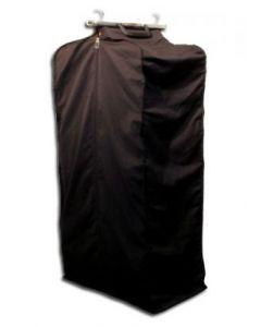 Tøjpose til kollektioner - Med kuffertlukning i toppen og lynlås ned langs posen