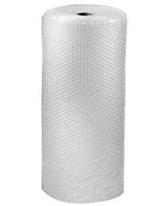 Bobleplast i stor størrelse på 100 cm med 25 m på rullen