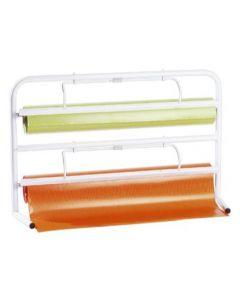Holder til indpakningspapir med 2 stk. - Afriver nemt papir i ønsket længde