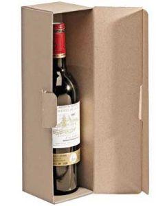 Pap æske til vin flasker - Køb gaveæsker til vin flasker online