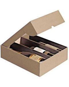 Vin karton til 3 flasker - Køb Vin karton online her med dag til dag levering