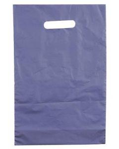 Smart bærepose i blåmetal - Fremstillet i plastik af god kvalitet