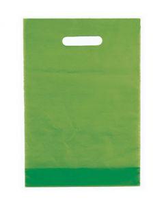 Æble grønne plastikposer til god tyk kvalitet - Kan bruges i enhver handel