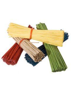 Poselukker tråd i bast - Leveres i 5 flotte farver hurtigt fra dag til dag