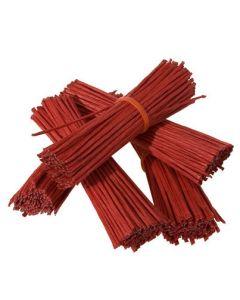 Tråd bast poselukker i rød farve, pakket med 500 stk. til billig pris - Køb online med dag til dag levering