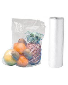 Klar plastikpose på rulle med perforering - Afriv nemt en pose
