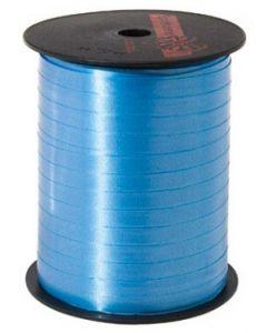 Turkis blå gavebånd i flot kvalitet - Rulle med 500 m til billig pris
