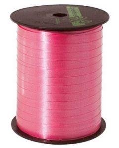 Pink gavebånd med 7 mm i bredden - God kvalitet til billig pris