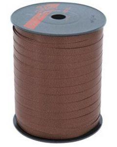 Gavebånd i brun farve på rulle med 500 meter - Perfekt til indpakning