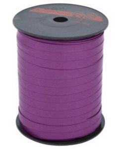 Blomme farvet indpakningsbånd til gave indpakning
