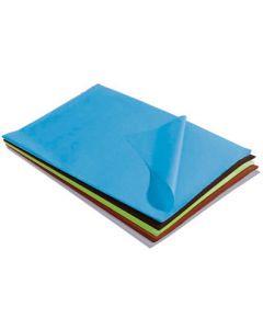 Silkepapir i 5 flotte farver - Brug silkepapir ved indpakning