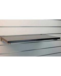 Hylde til saltwall / rillepanel i flot sort farve - Køb online med hurtig levering