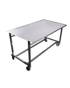 Galvaniseret salgsbord i kraftig kvalitet - Perfekt til gade brug