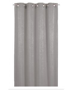 Forhæng i grå farve til prøverum - I god og kraftig kvalitet