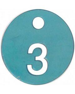 3 styk tøj der prøves i prøverum - Køb nummer brikker her